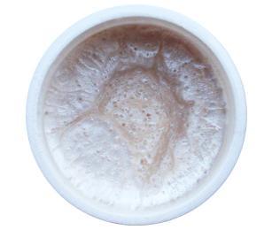 GABRA UV gel - perleťový, odstín bílá