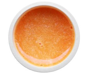 GABRA UV gel - kovový, odstín losos