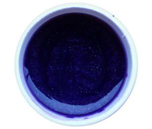 GABRA UV gel - kovový, odstín fialka