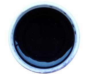 GABRA UV gel - kovový, odstín černo-fialová
