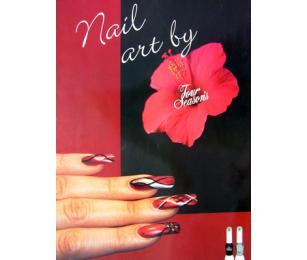 Plakát Nail art by Four Seasons